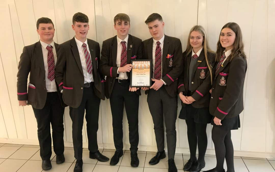Young Enterprise team win highest sales award
