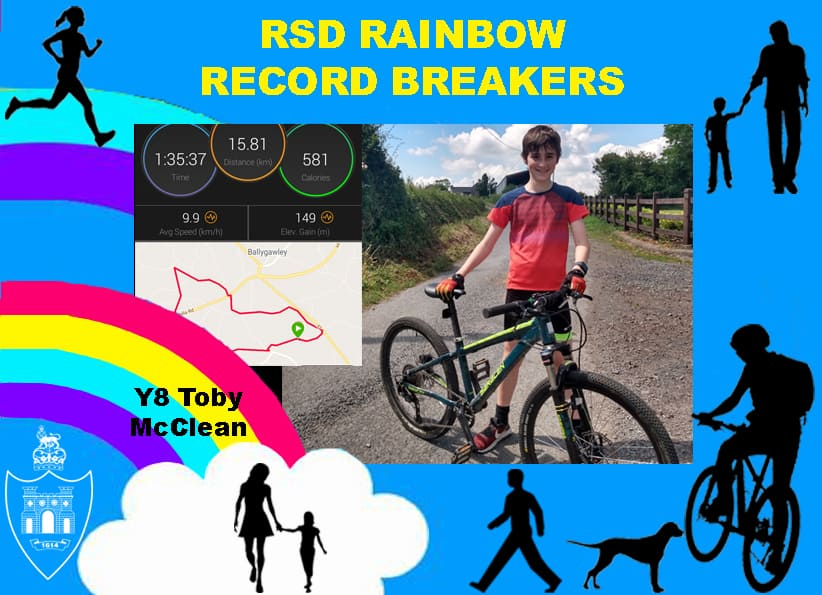 RSD Rainbow Run, Walk or Cycle