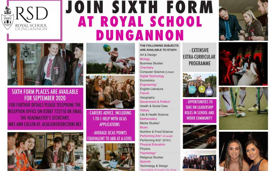 Join Sixth Form at RSD