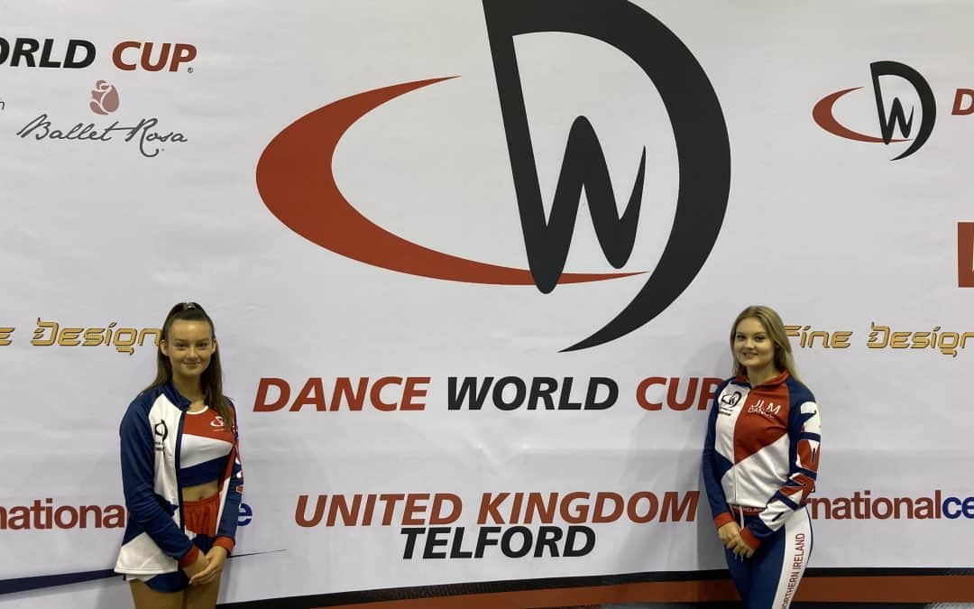 Chambers sisters sweep up for N.I. at Dance World Cup