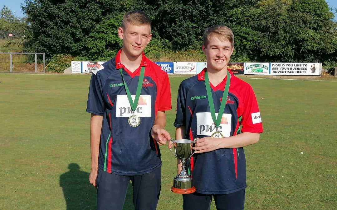 Jack wins Inter-Provincial cricket U15 championship